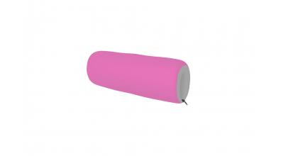 Textilní chránič růžovo/šedý