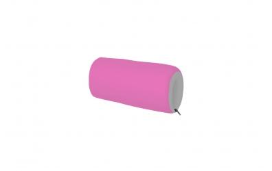 Textilní chránič krátký - růžovo šedý