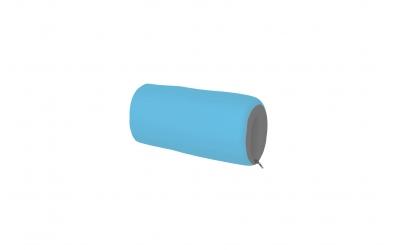 Textilní chránič krátký - tyrkysovo šedý