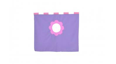 Závěsná textilie zvýšené jednolůžko - fialová