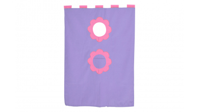 Závěsná textilie palanda-fialová