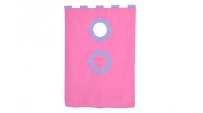 Závěsná textilie palanda-růžová