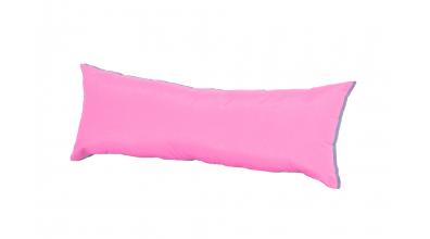 Polštář obdélník růžovo/fialový