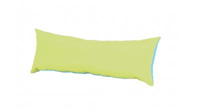 Polštář obdélník tyrkysovo/zelený