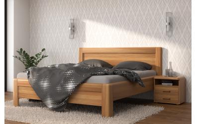 Manželská postel ADRIANA Family, 140x200, buk