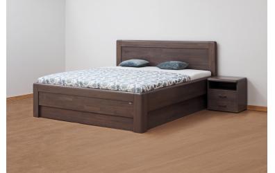 Manželská postel ADRIANA Family,200x200, buk jádrový