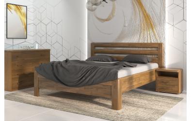 Manželská postel ADRIANA Lux, 140x200, dub cink