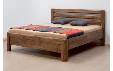 Manželská postel ADRIANA Lux, 160x200, buk jádrový