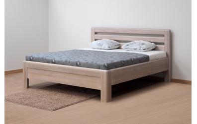 Manželská postel ADRIANA Lux, 180x200, dub