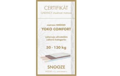 Matrace YOKO Comfort 90x200