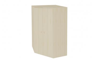 Skříň rohová šatní s dveřmi hloubka 576 smrk
