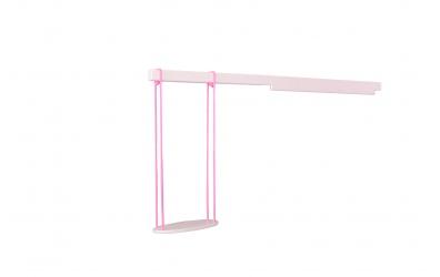 Houpačka malá růžová buk cink