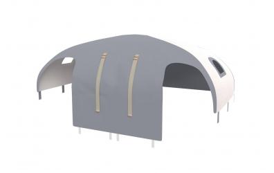 Domeček stan pro zábranu A B SKANDI