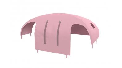 Domeček stan PASTEL pro dělené čelo a zábranu A B levý růžový
