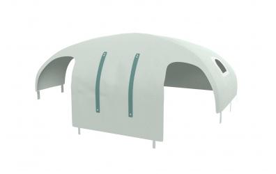 Domeček stan PASTEL pro dělené čelo a zábranu A B levý mint