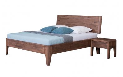 Manželská postel FANTAZIE nastavitelné čelo šikmé 180 cm buk cink
