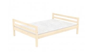 Dvoulůžko DOMINO 120 smrk, dětská postel z masivu