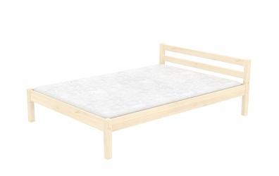 Dvoulůžko DOMINO nízké čelo 140, dětská postel z masivu