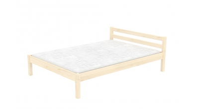 Dvoulůžko DOMINO nízké čelo 120, dětská postel z masivu