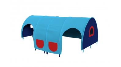 Domeček tunel pro zábranu A B - tyrkysovo/modý