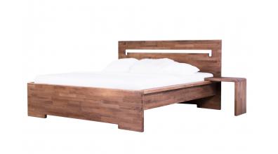 Manželská postel MODENA buk cink