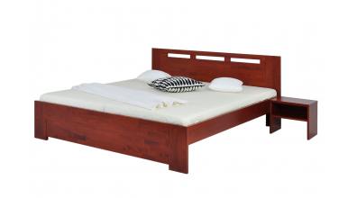 Manželská postel VALENCIA 180 cm buk cink