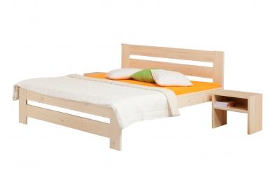 Manželská postel METAXA Senior 180 cm smrk