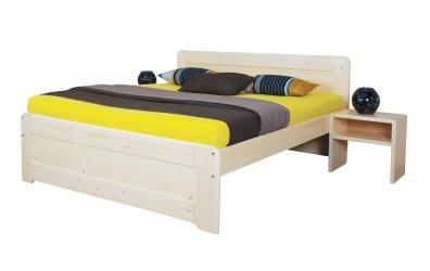 Manželská postel REMARK 1 180 cm smrk