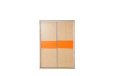 Skříň s posuvnými dveřmi 160 cm lamino