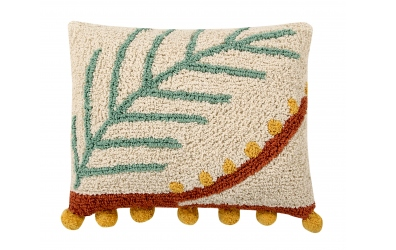 Polštář LORENA CANALS palmový list, béžový