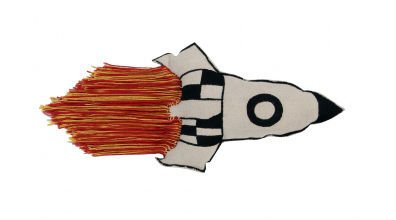 Polštář LORENA CANALS raketa, barevný