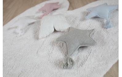 Polštář LORENA CANALS andělská křídla, slonová kost