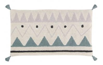 Sedací vak LORENA CANALS na spaní aztécký vzor, přírodní