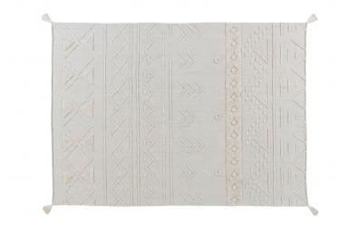 Koberec LORENA CANALS kmenové vzory, přírodní, M