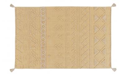 Koberec LORENA CANALS kmenové vzory, medový, L