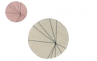 Koberec LORENA CANALS kruh s pruhy (více variant)