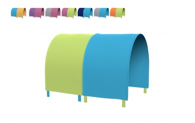Tunel na postel zábrana A B (více variant)