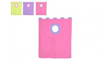 Závěsná textilie palanda nízká (více variant)