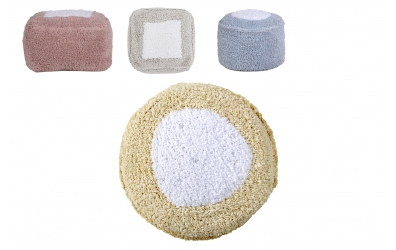 Sedací vak LORENA CANALS marshmallow hranatý (více variant)